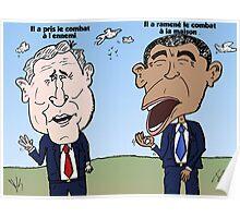 Différences stratégiques présidentielles Poster