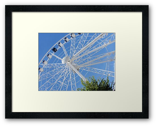 Cape Wheel, Cape Town South Africa by Vanessa Jayne Thomas
