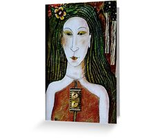 WICCA WOMAN Greeting Card