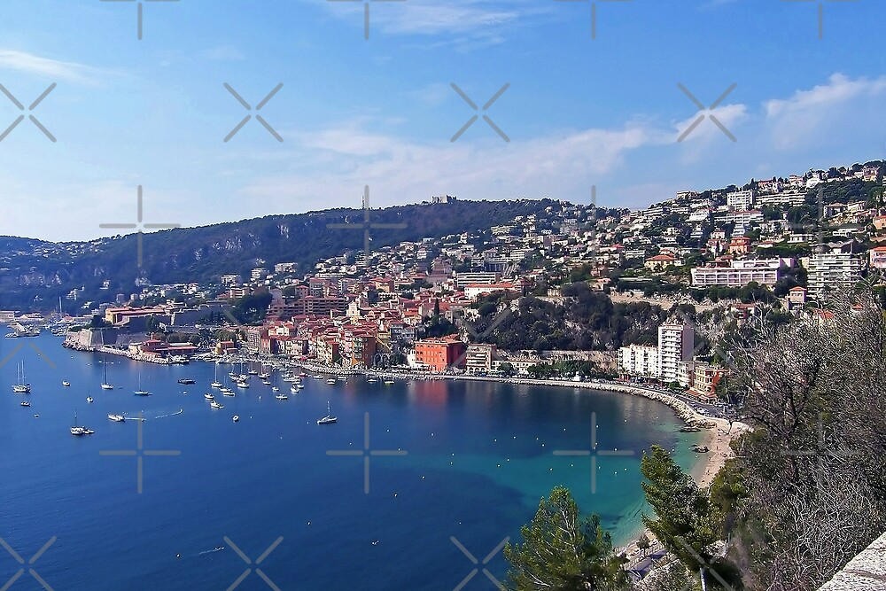 Villefranche  Bay II by Tom Gomez
