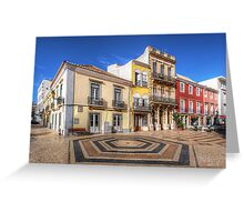 City Of Faro Greeting Card