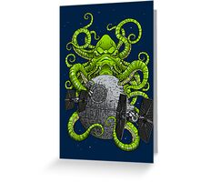 Cthulhu Strikes Back Greeting Card