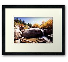 picture book fall II Framed Print