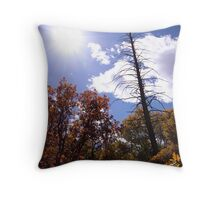picture book fall III - Dead Tree Throw Pillow