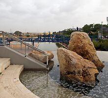 Rocks And A Bridge by Michael Redbourn