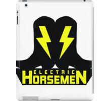 Electric Horsemen (Vintage 2)  iPad Case/Skin