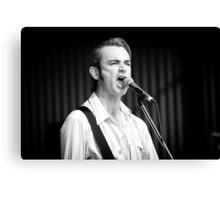 Chris Russell at Deni Blues & Roots Fest Canvas Print