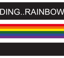 RAM Design Loading Rainbow Pride Plate #62 Sticker