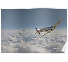 Spitfire - Battle of Britain Poster