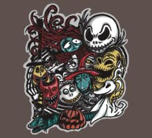 Nightmarish Characters One Piece - Short Sleeve