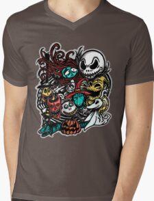 Nightmarish Characters Mens V-Neck T-Shirt