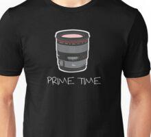 Prime Time Lens T-Shirt (Dark) Unisex T-Shirt