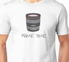 Prime Time Lens T-Shirt (light) Unisex T-Shirt