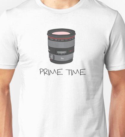 Prime Time Lens T-Shirt (light) Unisex T-Shirt