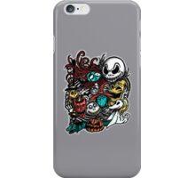 Nightmarish Characters iPhone Case/Skin