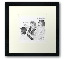 Typical Jesus Framed Print