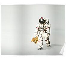 Space can be lonely Poster