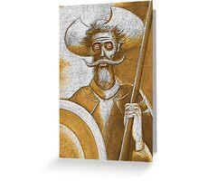 Sleepless In Spain Greeting Card