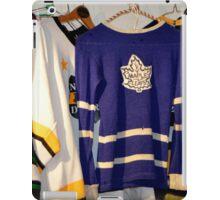 Hockey Team Sweaters iPad Case/Skin