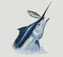 Black Marlin & Tuna by David Pearce