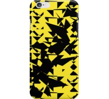 Yellow and Black Breakout iPhone Case/Skin