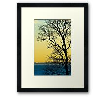 Sunset at Sewerby, East Yorkshire Framed Print