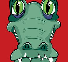 Cocodrile head by Bug's World