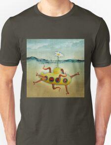 yellow submarine in an octopuses garden T-Shirt
