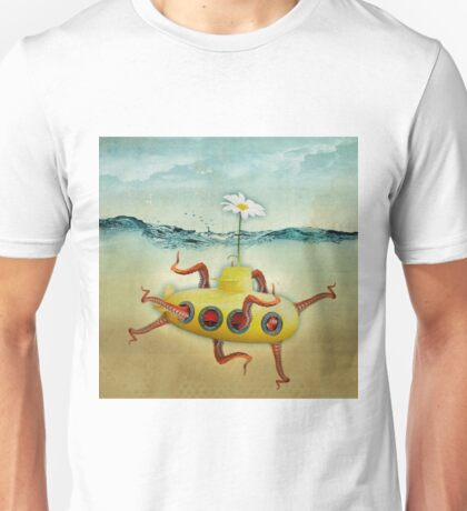 yellow submarine in an octopuses garden T-Shirt