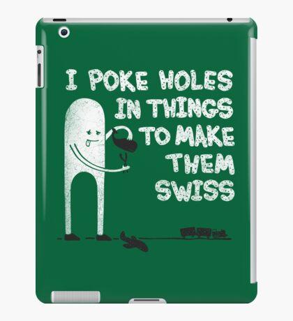Making Swiss Happen iPad Case/Skin