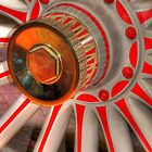 Wagon wheel [iPhone-iPod case] by Susan Littlefield