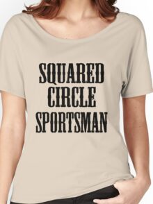 old timey wrestler Women's Relaxed Fit T-Shirt