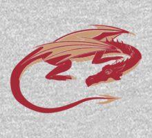 Smaug, the red dragon Kids Tee