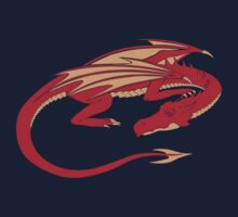 Smaug, the red dragon Kids Clothes