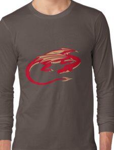 Smaug, the red dragon Long Sleeve T-Shirt