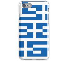 Smartphone Case - Flag of Greece - Patchwork iPhone Case/Skin