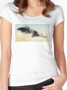 Memory of a quill Women's Fitted Scoop T-Shirt