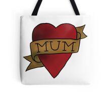 Mum ♥ heart tattoo - Matt Helders Tote Bag