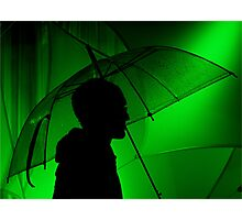 Singing in the rain Photographic Print