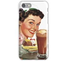 Time for Dessert Waitress  iPhone Case/Skin