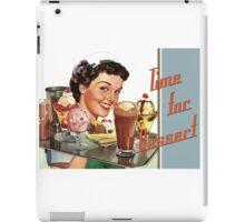 Time for Dessert Waitress  iPad Case/Skin