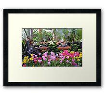 Spring Flower Show Framed Print