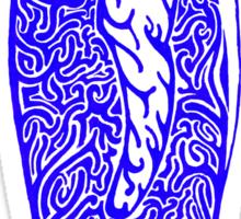 Mr P is blue! Sticker