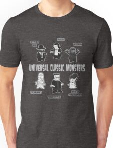 UNIVERSAL CLASSIC MONSTERS Unisex T-Shirt
