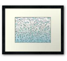 Entangled Clouds Framed Print