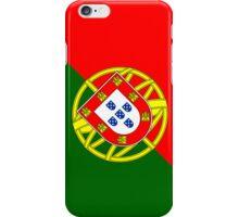 Smartphone Case - Flag of Portugal - Diagonal iPhone Case/Skin