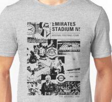 Arsenal Collage T shirt Unisex T-Shirt