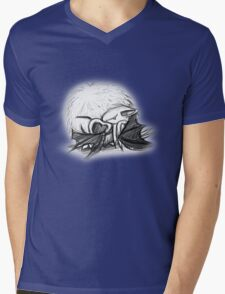 Batty Love  Mens V-Neck T-Shirt