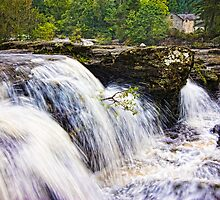 Falls of Dochart Scotland by mlphoto