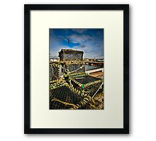 Arbroath Harbor Scotland Framed Print